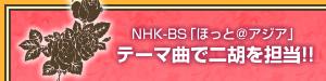 NHK-BS「ほっと@アジア」テーマ曲で二胡を担当!!